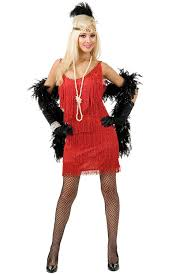 Halloween 1920s Costumes Red Fringe Size Flapper Dress Costume Buy 1920 U0027s Flapper