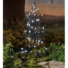 outdoor solar lights for trees wayfair
