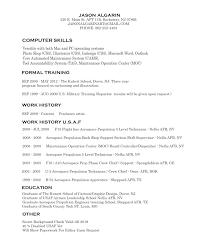 Computer Skills On Resume Sample Attractive Computer Skills And Versitile With Both Mac And Pc
