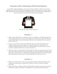amazing work experience resume 2 resume examples student first job