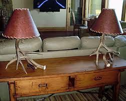 table lamps drokes antler art