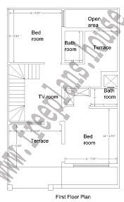 Square Feet To Square Meter 25 40 Feet 92 Square Meter House Plan
