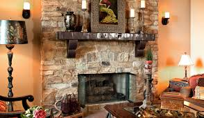 Large Candle Holders For Fireplace by Interior Rustic Stone Fireplaces With Framed Picture Candle