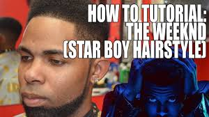 what is the weeknds hairstyle called the weeknd haircut l tutorial hd youtube
