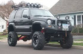 jeep liberty lifted 12in lift on jeep liberty