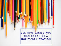 homework station organize it and keep it that way