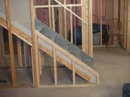 Basement Framing Ideas How To Build Basement Stairs Joshua And Tammy