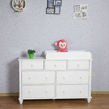 dresser with removable changing table top 7 chest of drawers with removable change table top ebay
