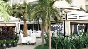 garden 26 in santa monica poolside cabana santa monica hotel viceroy santa monica