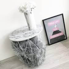 table d appoint pour canapé table d appoint marbre blanche
