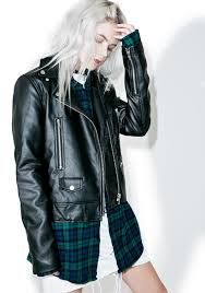 jacket moto lone highway moto jacket dolls kill