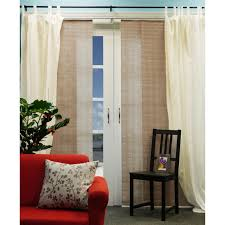 fabric panels for sliding glass doors long brown fabric panel curtain plus broken white fabric for glass