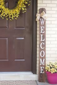 inviting wooden welcome signs for your home 45 exles