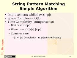 Pattern Matching Algorithm In Data Structure Using C | data structures and algorithms