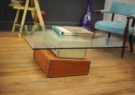 Suitcase Coffee Table Diy Projects Vintage Suitcase Coffee Table Diy Furniture Ideas