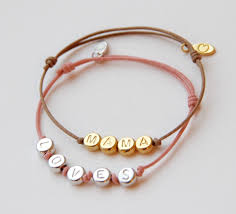 bracelet with initials initials bracelet mamaloves