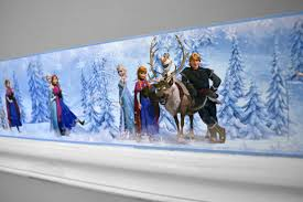 create a frozen fantasyland with our disney frozen border