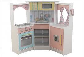 cuisine pastel cuisine d angle enfant en bois couleurs pastel kidkraft 53368