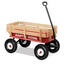 amazon com radio flyer full size all terrain steel u0026 wood wagon