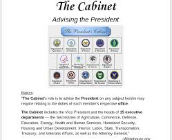 15 Cabinet Departments And Their Duties The Cabinet