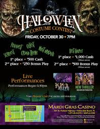 halloween slots halloween costume contest mardi gras casino hallandale beach