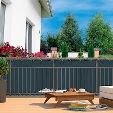 balkon sichtschutz balkon sichtschutz anthrazit gärtner pötschke