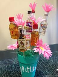 liquor bouquet sorority craft for my big or candy for my little