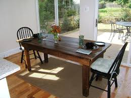 Distressed Wood Dining Room Table by John Duffy Stable Tables Flourtown Pa