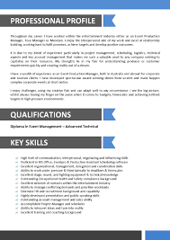 Best Resume Format Experienced Professionals by Sample Resume For Entertainment Industry Sample Resume For