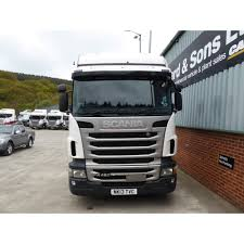 scania r480 6x2 tractor unit 2013 manual gearbox commercial