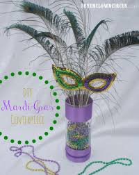 mardi gras centerpiece ideas using candles diy mardi gras