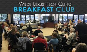 wilde lexus breakfast at wilde lexus wilde lexus