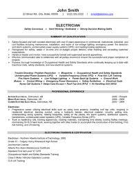 Pipefitter Resume Example Examples Of Electrician Resumes Electrician Resume Examples