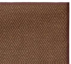 Diamond Pattern Sisal Rug Rugs Decor Look Alikes