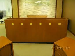 Used Reception Desks by Reception Desk Round Executive Liquidation U2013 Quality Used Office