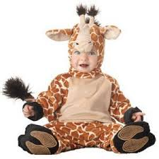 Infant Skunk Halloween Costumes Infant Baby Giraffe Halloween Costume Size 6 12m Giraffes