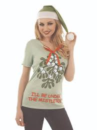 mistletoe headband mistletoe t shirt fs4030 fancy dress