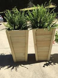 20 tall planters tall planters planters and wood planters