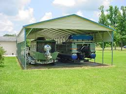 Attached Carports by Carports Mississippi Ms Metal Steel Rv Utility