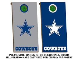 Dallas Cowboys Home Decor Amazon Com Dallas Cowboys Board Decals Cobalt U0026 White