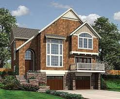 country cottage plans sloping lot country cottage 6884am architectural designs