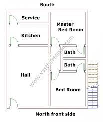 Master Bedroom According To Vastu North Facing House Plan 2 Vasthurengan Com