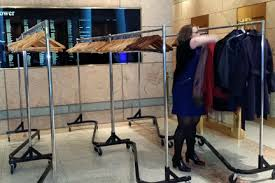 coat rack rentals md va dc garment rack rentals maryland