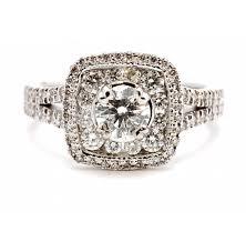 engagement rings 100 halo engagement ring henry wilson jewelers syracuse ny
