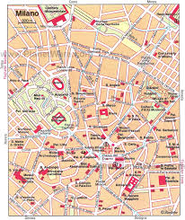 Map Of New York City Attractions Pdf by 14 Top Tourist Attractions In Milan Planetware
