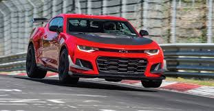 chevy camaro 2018 chevy camaro zl1 1le sets a nurburgring record the torque