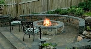 decorations patio fire pit ideas unique for your home decorating