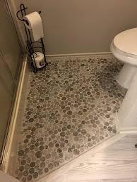 light grey moon mosaic tile powder room flooring subway tile outlet