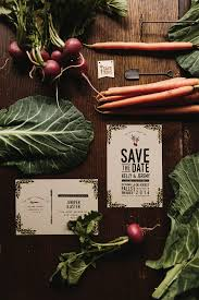 Rustic Save The Dates Rustic Farm To Table Watercolor Save The Dates