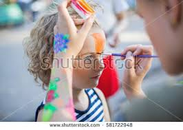 smiling boy curly hair face art stock photo 585426236 shutterstock
